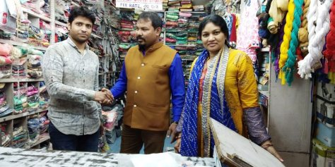 great beginnings for this shop owner in India