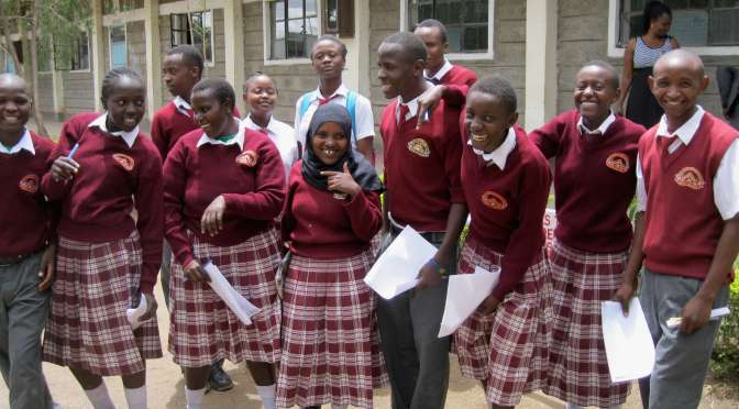 providing scholarships for orphans in Kenya