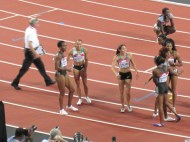 Ennis and other hurdle runners