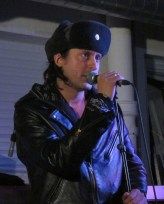 Carl Barat sang at Rough Trade East for an event to launch Beck's Songreader album