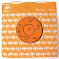 Bob Dylan Positively 4th Street single Columbia