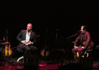 Josh Homme played a solo acoustic show in June which was intimate and very funny...