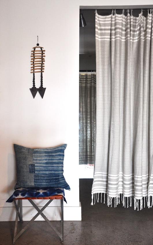 turkish towel curtain