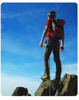 站在山頂的人