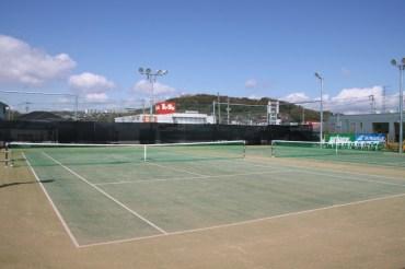 テニスコート写真