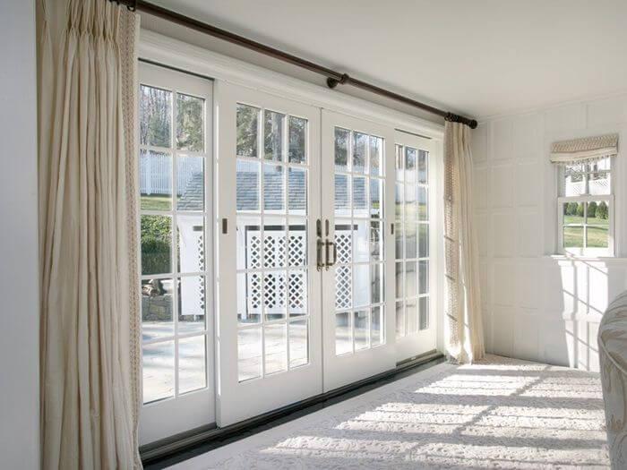 patio door curtains for indoor and outdoor