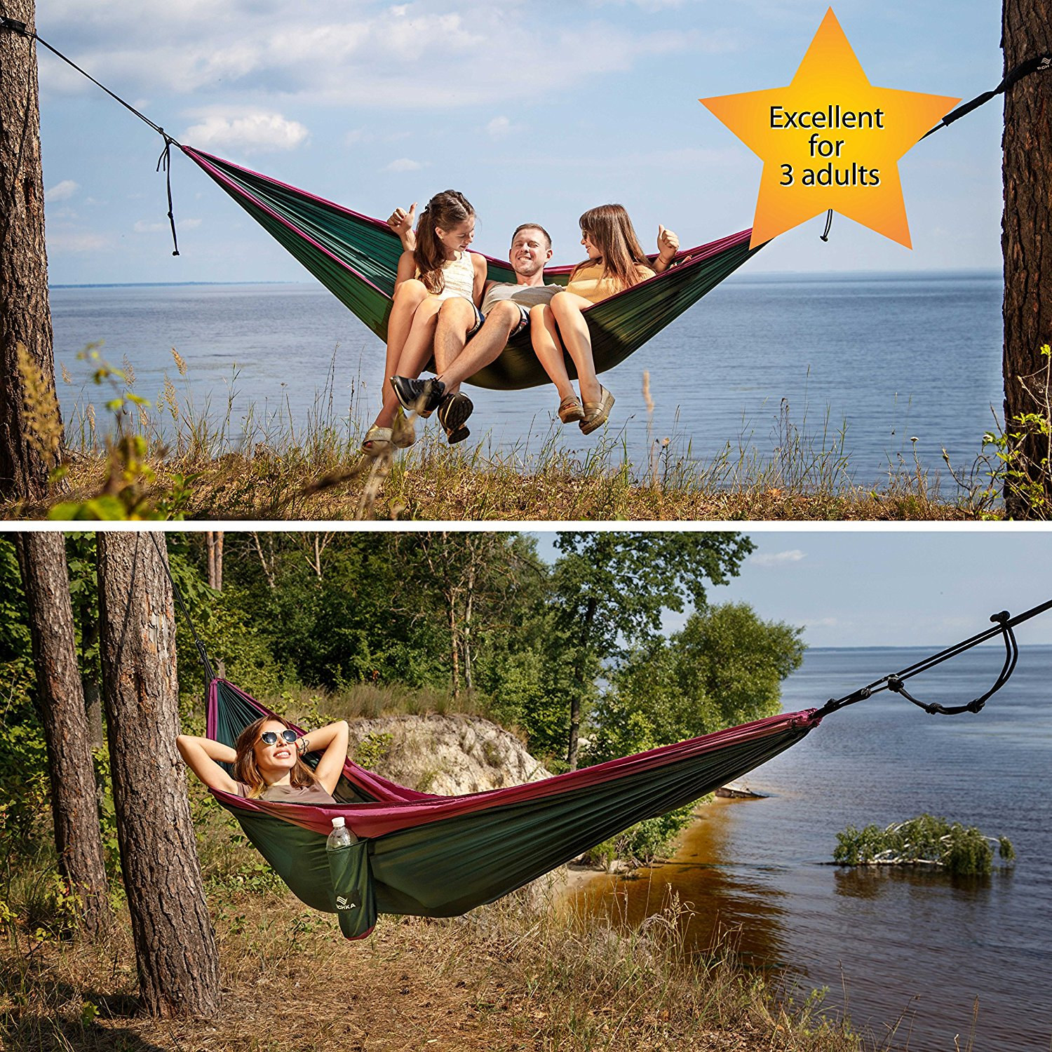 Richka Double Camping Hammock Review What The Experts Think