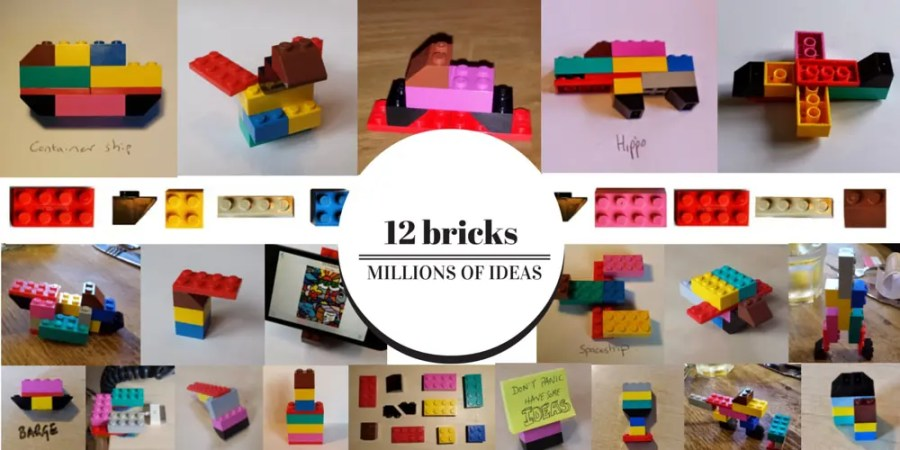 12 bricks, millions of ideas