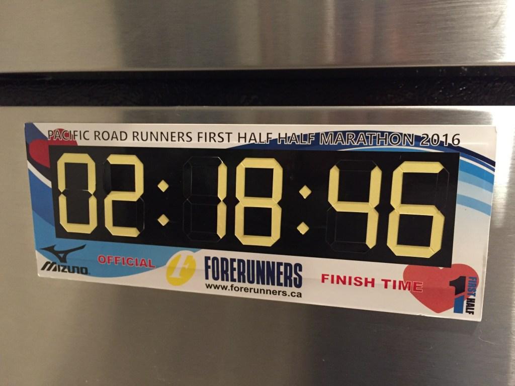 """Digital clock"" magnet"
