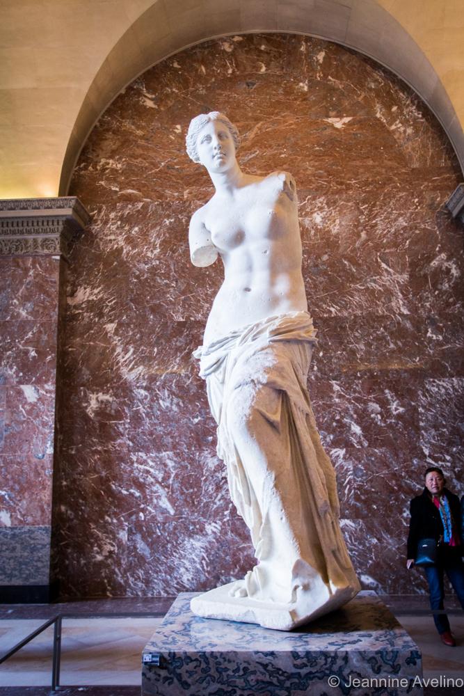Venus de Milo (not the gummy one hehe) - Louvre