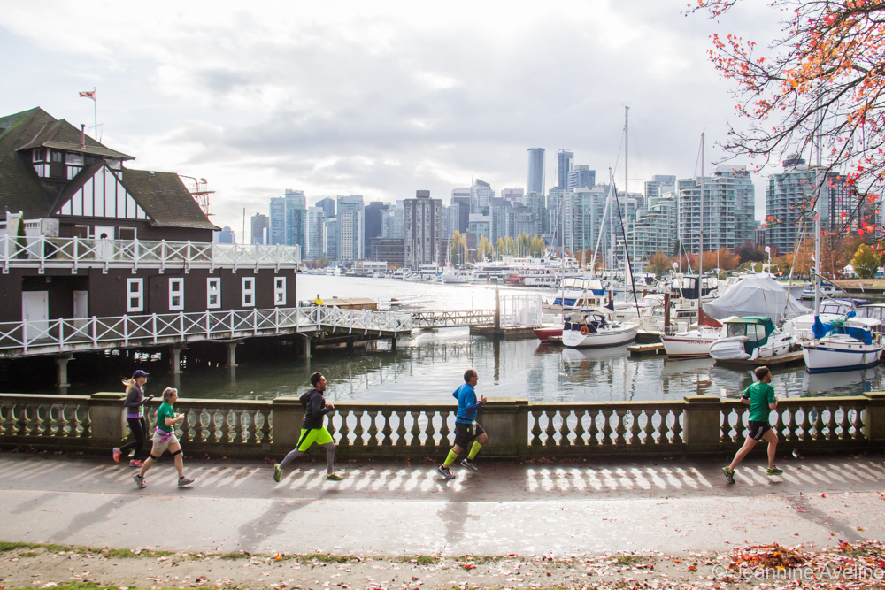 Rock n Roll Vancouver Half Marathon and Cunningham Seawall 10K - photo by Jeannine Avelino