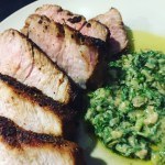 Easy Recipes: Carrot-Top Pesto, Smoky Chicken Enchiladas, & Cajun Spice Pork Chops