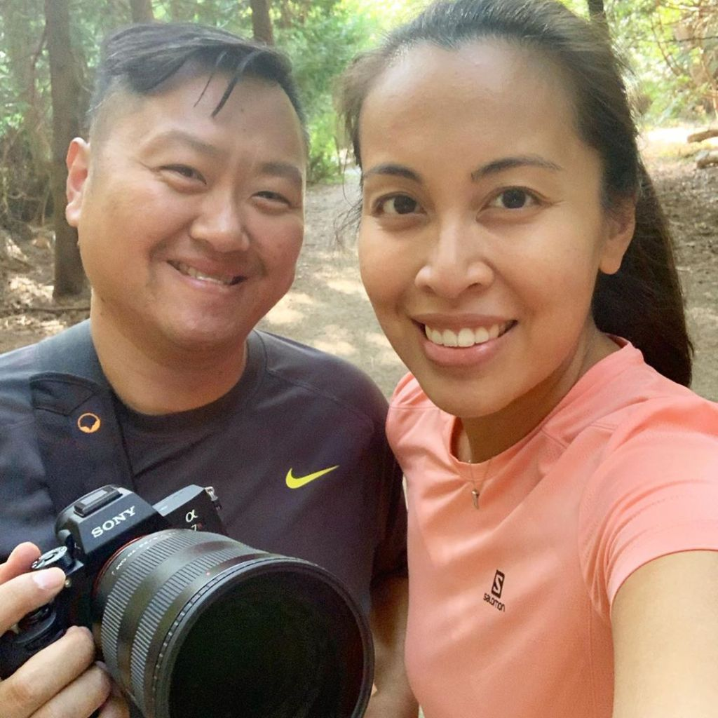 Selfie of Jeannine Avelino and Vinh Nguyen - Vindaloo Creative