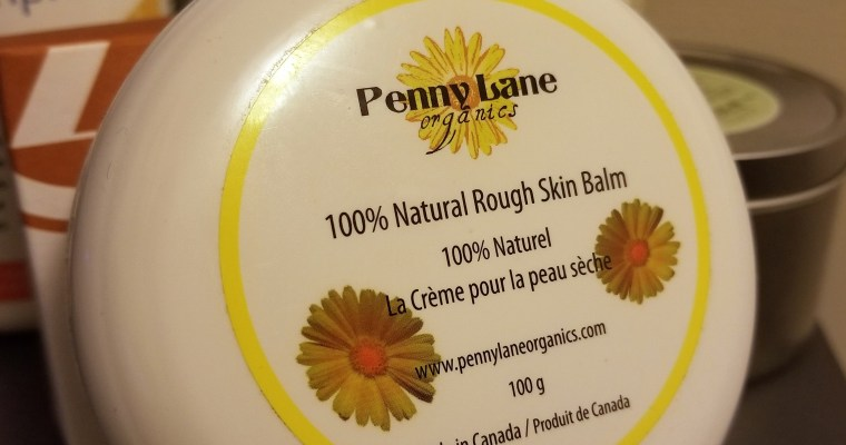 Product Review: Penny Lane Organics Rough Skin Soothing Balm