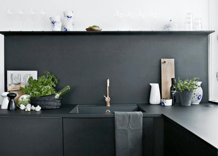 Zwart Scandinavisch Keuken : Keuken inspiratie: 25x zwarte keukens everythingelze.com