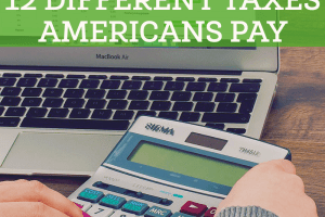 A list of 12 different taxes Americans pay. See if you know all of them - they're not all common knowledge.