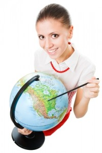 women globe