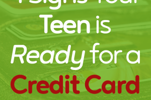 Are you wondering if your teenager is ready to have their own credit card? Here are 4 signs that indicate they can handle credit responsibly.