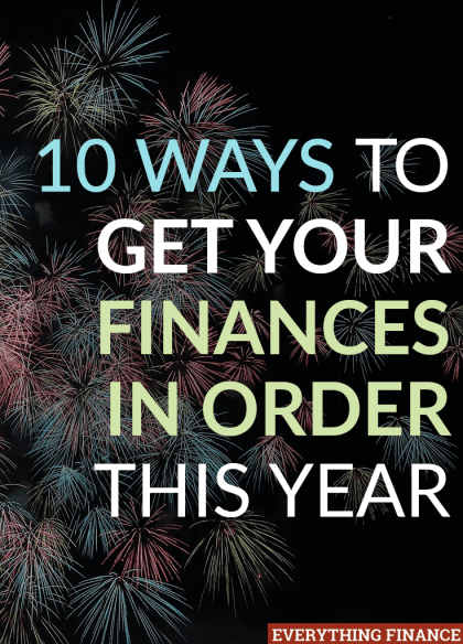 Sick of living paycheck to paycheck and want to get your finances in order in the new year? Here are 10 ways to give your money a boost!