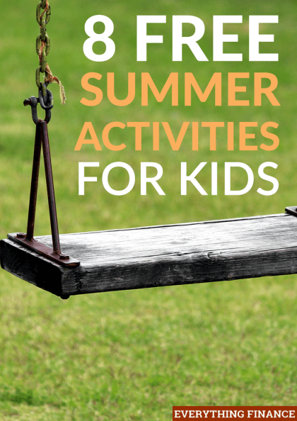 Summertime can be draining when you're a parent as you have to keep your kids from boredom. Here are 8 free summer activities for kids to prevent that!