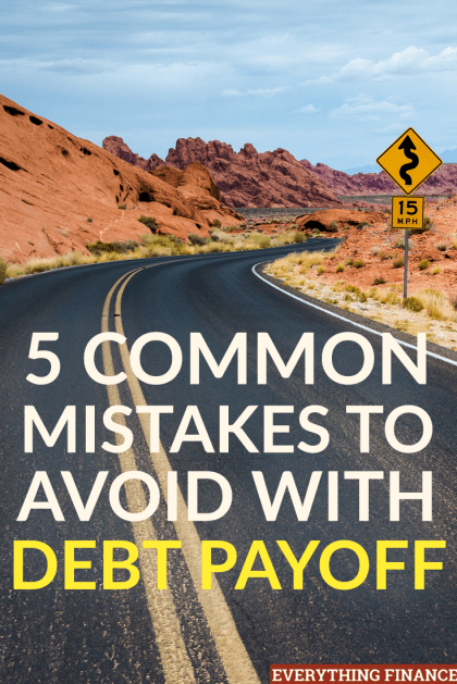 Is your top financial goal to pay off debt? Then make sure you're not costing yourself money by making these mistakes.