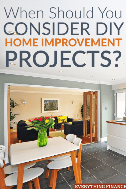 Thinking About Making A List Of DIY Home Improvement Projects Heres What To Consider