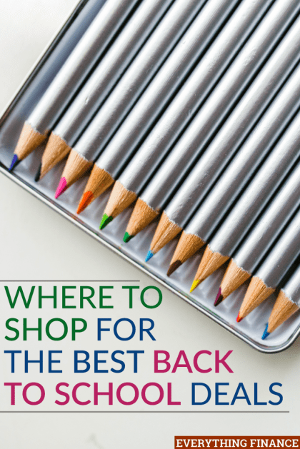 Want to take advantage of the best back to school deals so you can save money on supplies and clothes? Check these awesome sales out from different retailers.