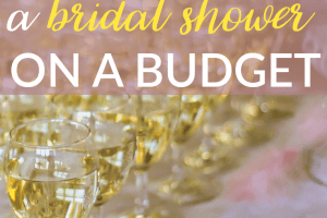Throwing a bridal shower can be expensive, but it doesn't have to be. Here are some ways you can throw a bridal shower on a budget.