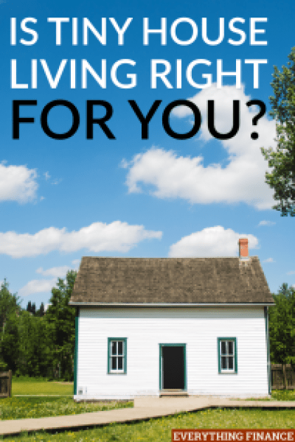Tiny house living has become popular for people to cut down on the cost of living, declutter, and destress their lives. Is tiny house living for you?