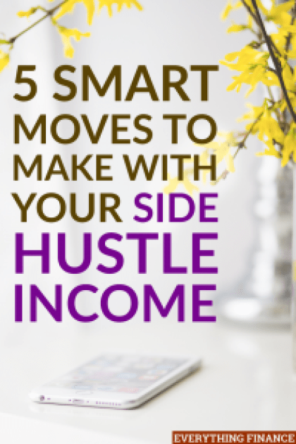 Earning side hustle income can feel great, but if you mismanage it, you may find yourself back at square one. Use these smart moves instead.