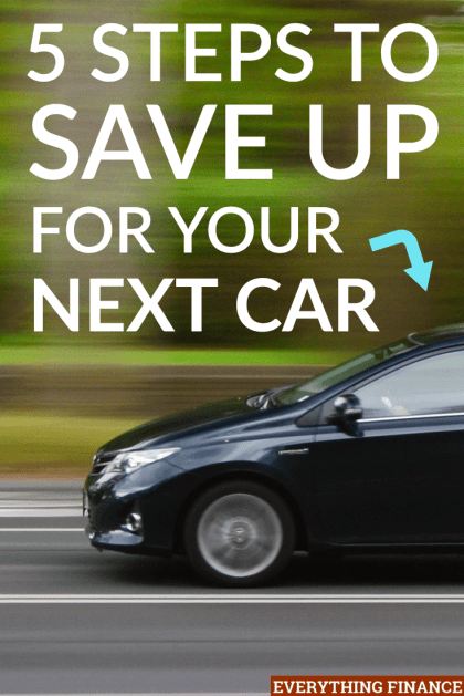 Unfortunately, cars don't last forever. When you get ready to buy your next car, use these steps to save up and plan first.