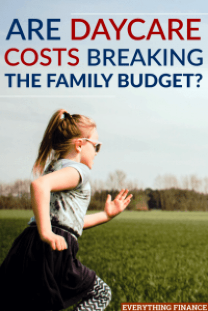 Daycare costs can be prohibitive for many families. It's important to plan for these daycare costs before starting a family.