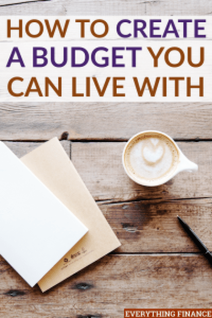 The reality of creating a budget can sometimes prove to be difficult. Here are a few tips to help you create a budget you can live with for the long-term.