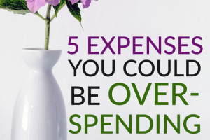 If you think you might be overspending, check to see how these expenses may be affecting your budget regularly and how you can save in these areas.