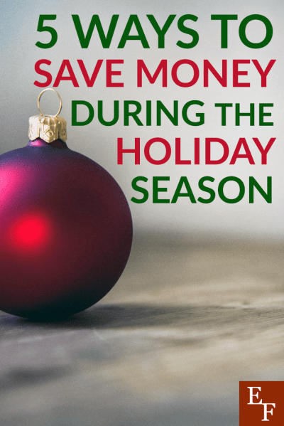Saving money this holiday season doesn't mean you have to be a scrooge. You can save money and still enjoy this festive time of year. Here's how.