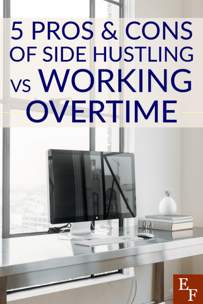 If you need extra money, should you get a side hustle or try working overtime? Weigh these pros and cons of each to help you decide which is best for you!