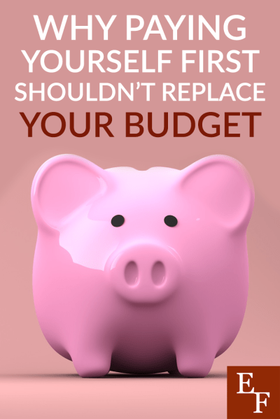Paying yourself first is a great idea, but it isn't the exact same thing as budgeting. Here's why you need to do both if you want to win with money!
