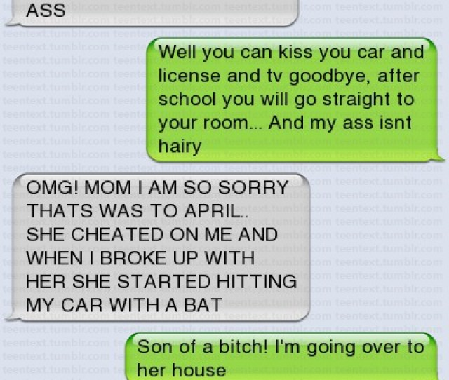 Funny Text Message Wrong Text To Mom About Cheating Girlfriend Mom Wants To Kill