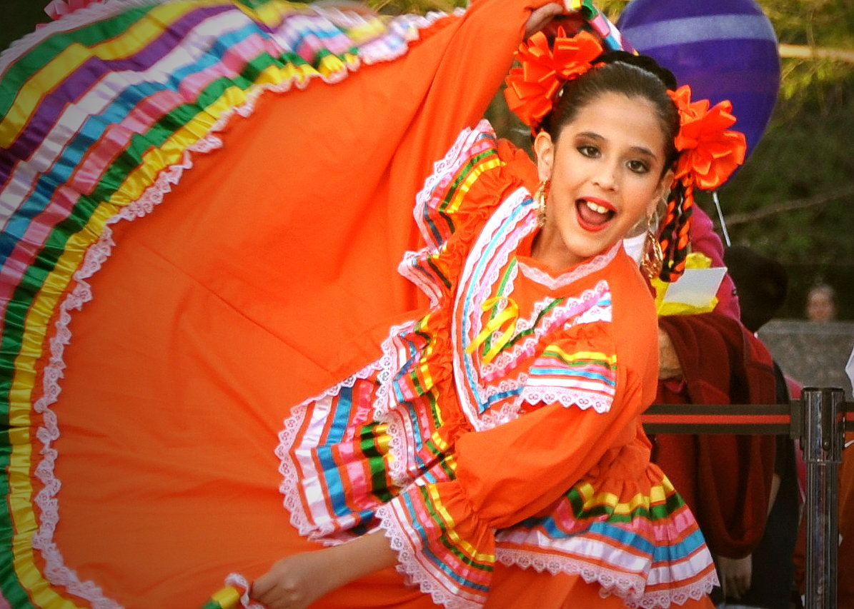 The Mexican Folk Dance Company Of Chicago Dance From The State