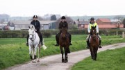 Mark Davies Injured Riders Fund - Fun out hacking