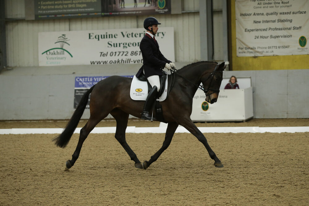 British Dressage Winter National Championships contenders Gary Foggon and Gypsy Fortune