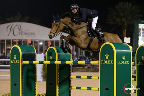 Ben Maher and Sarena Photos © Sportfot