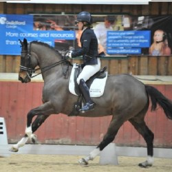 photo of Claire Randall and Undaunted courtesy of Sara Jane Lanning