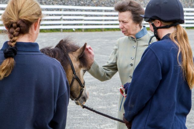 HRH meeting World Horse Welfare Shilo
