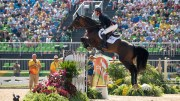 Ben Maher (GBR) & Tic Tac - Jumping – Team Round 2 (Team Final & Individual 3rd Qualifier) – Rio 2016 Olympic Games – Deodoro, Rio de Janeiro, Brazil – 17 August 2016. Image credit © BEF / Jon Stroud Media