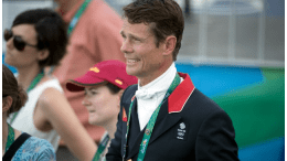 Miracle man: William Fox-Pitt bounced back from a serious head injury to take the lead as Eventing got underway at Deodoro Olympic Park in Rio de Janeiro (BRA) today. (FEI/Dirk Caremans)