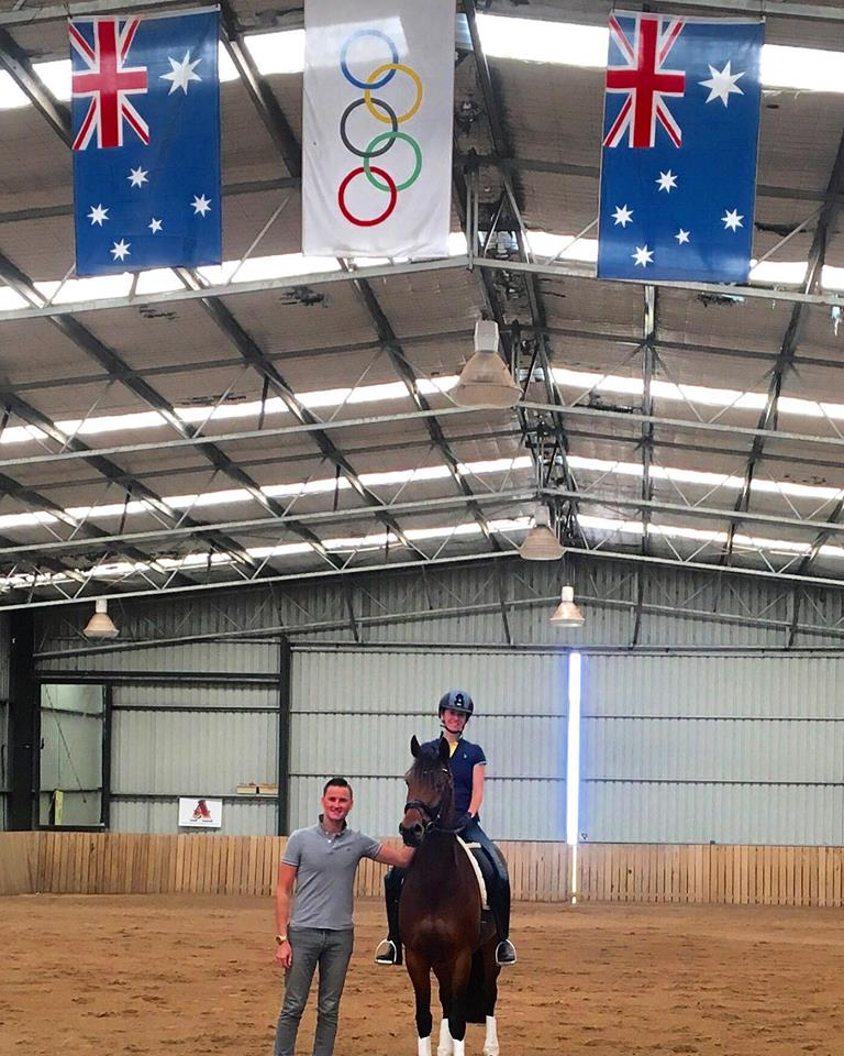 Stephen is pictured here during his most recent clinic in Australia