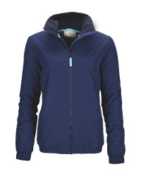 Aldi Equestrian Gear - Ladies' Navy Blouson Jacket
