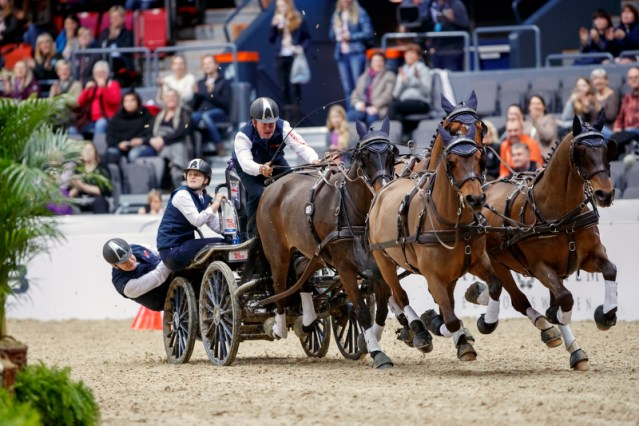 Boyd Exell on his way to his seventh FEI World Cup™ Driving title (FEI / Stefan Lafrentz)