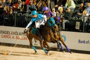 "Round Three of $250,000 Gladiator Polo™ League Presented by the U.S. Polo Assn. at the Wellington ""Coliseum"" Thursday, February 23rd. ©DavidLominska"
